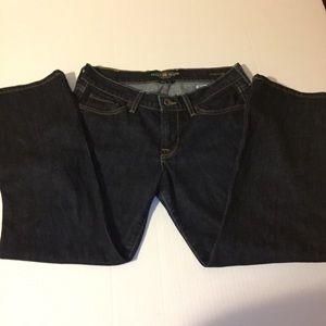 Luck brand straight leg jeans size 6